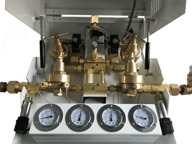 instalasi gas medis, gas medis manifold, sentral manifold