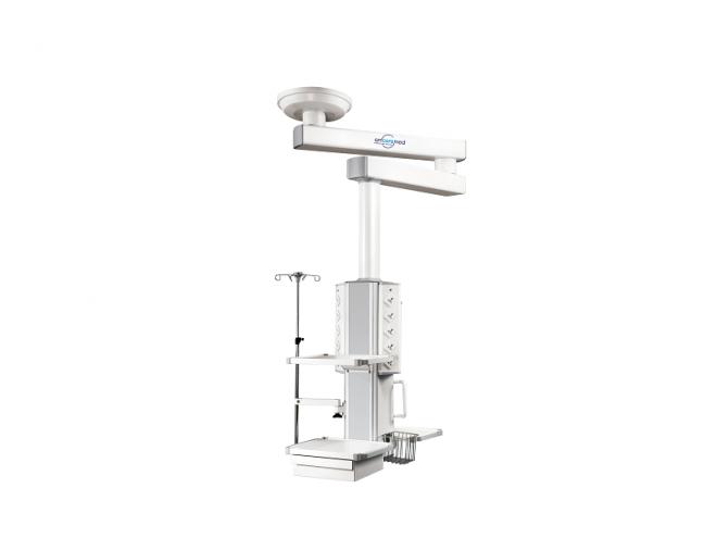 jual double arm rotasi pendant, instalasi gas medis, standar instalasi gas medis