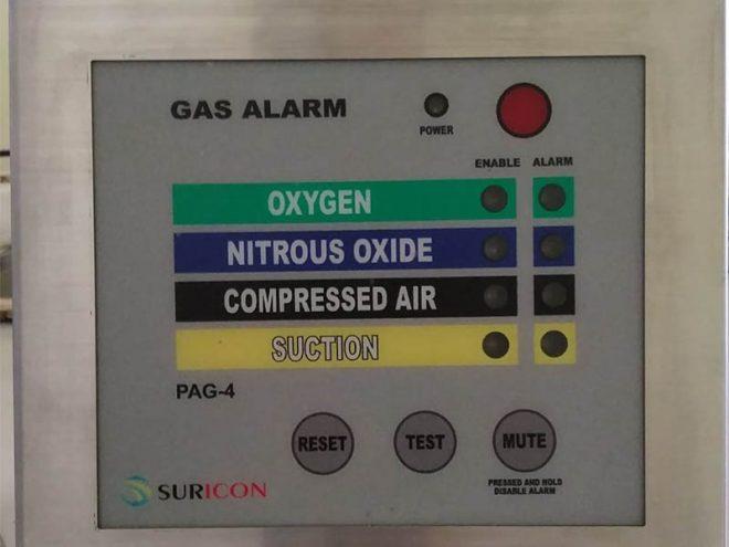 jual medical gas alarm, instalasi gas medis,
