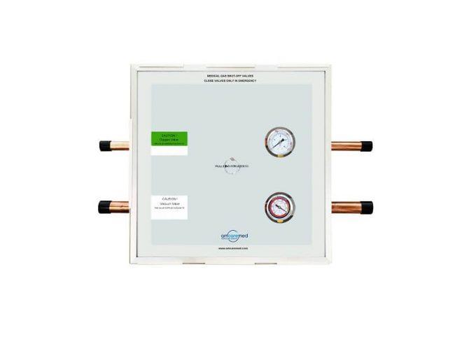 instalasi gas medis, zone valve box, standar instalasi gas medis