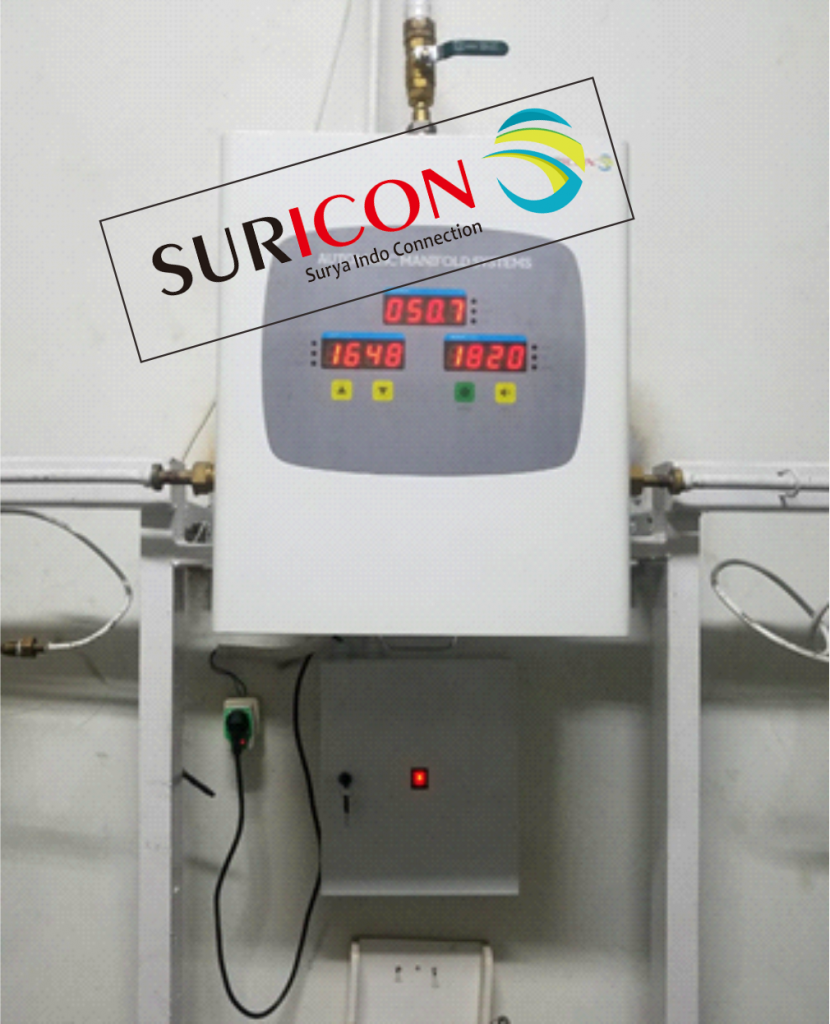 jual manifold gas medis, instalasi gas medis, automatic manifold
