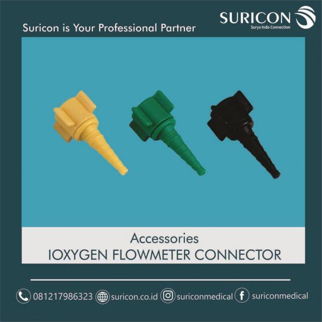 jual flowmeter connector, flowmeter oksigen, flowmeter gas medis
