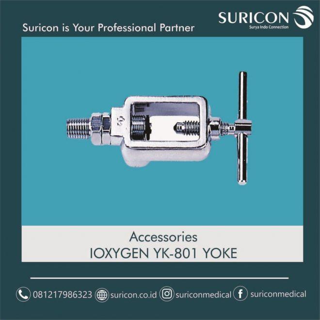accesories YK-801 Yoke, instalasi gas medis, jasa instalasi gas medis