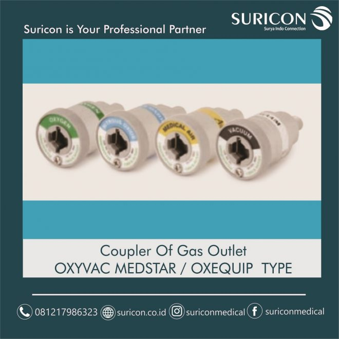 jual coupler gas outlet, wall outlet, instalasi gas medis