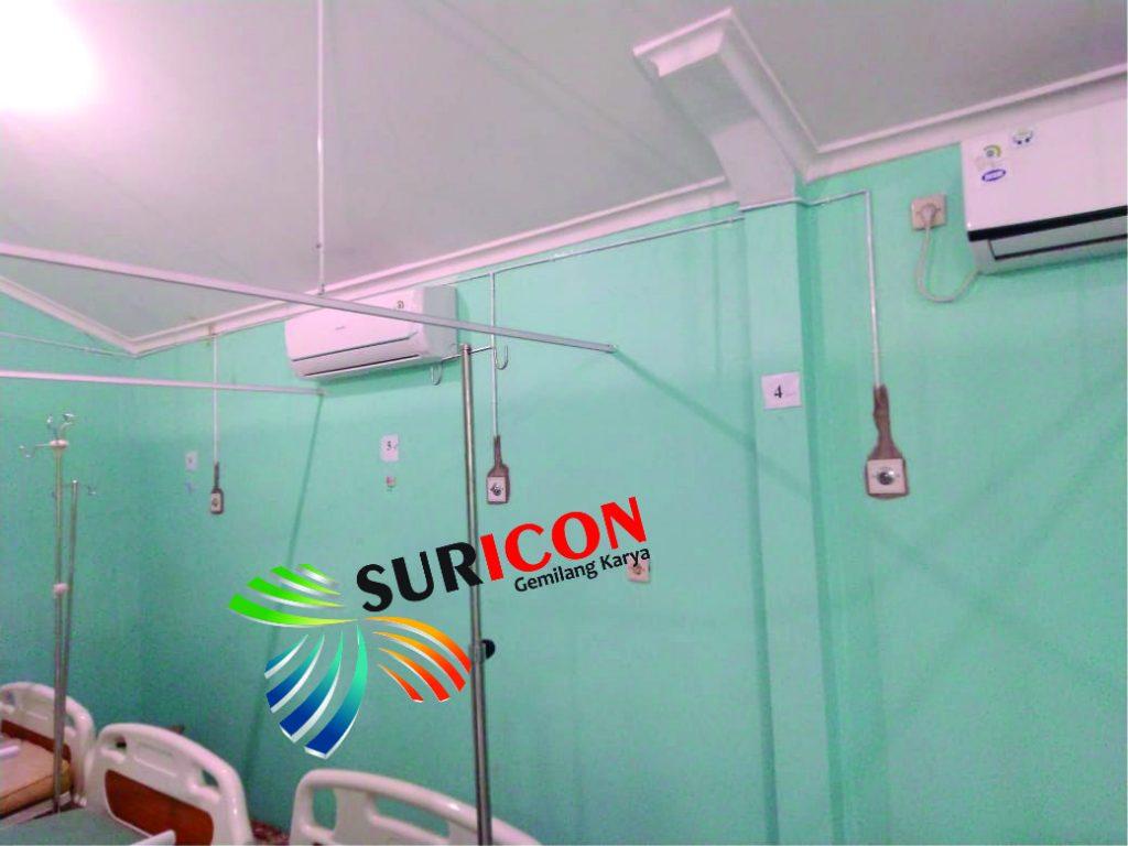 instalasi jaringan gas medis, jasa instalasi gas medis, outlet gas medis