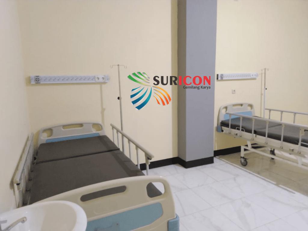 instalasi gas medis, sentral gas medis, bed head rumah sakit