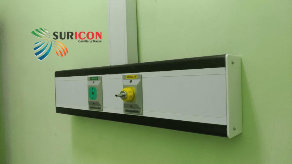 instalasi gas medis, medical air compressor, instalasi bedhead
