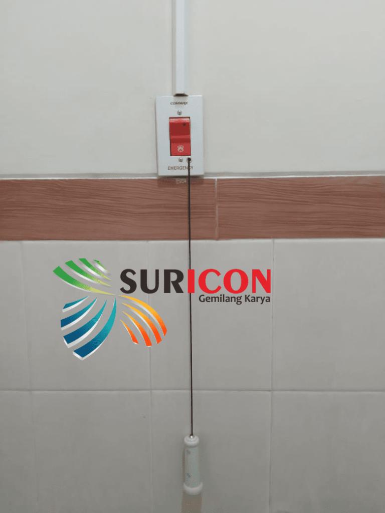 instalasi nursecall system, nursecall commax, rs mata undaan